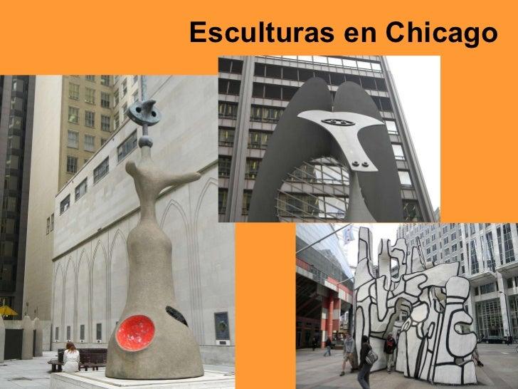 Esculturas en Chicago