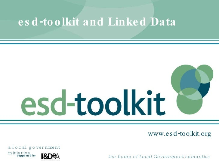 esd-toolkit and Linked Data