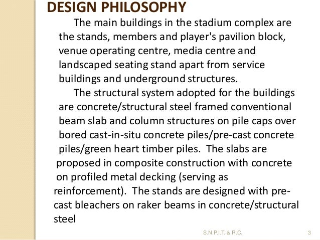Design philosophy in structure design in civil engineering for Philosophy design