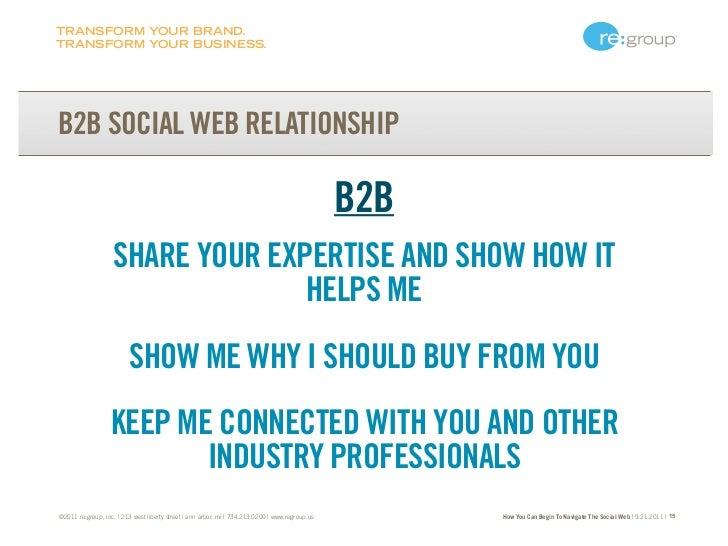 TRANSFORM YOUR BRAND.TRANSFORM YOUR BUSINESS.B2B SOCIAL WEB RELATIONSHIP                                                  ...