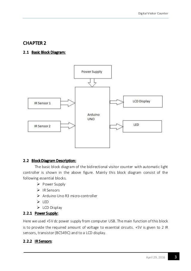 A Report on Bidirectional Visitor Counter using IR sensors ...