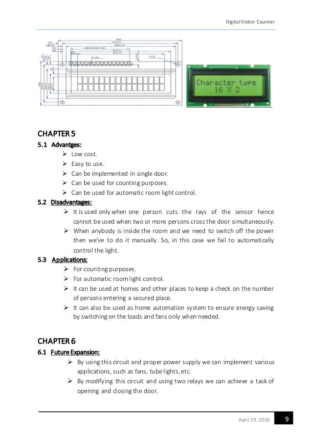 Automatic Room Light Controller Project Report