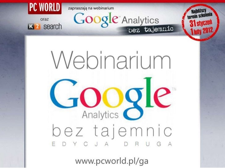 E Seminarium Google Analytics Bez Tajemnic