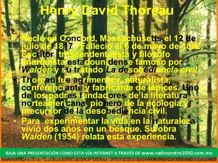 Esencial De Henry Thoreau Slide 2