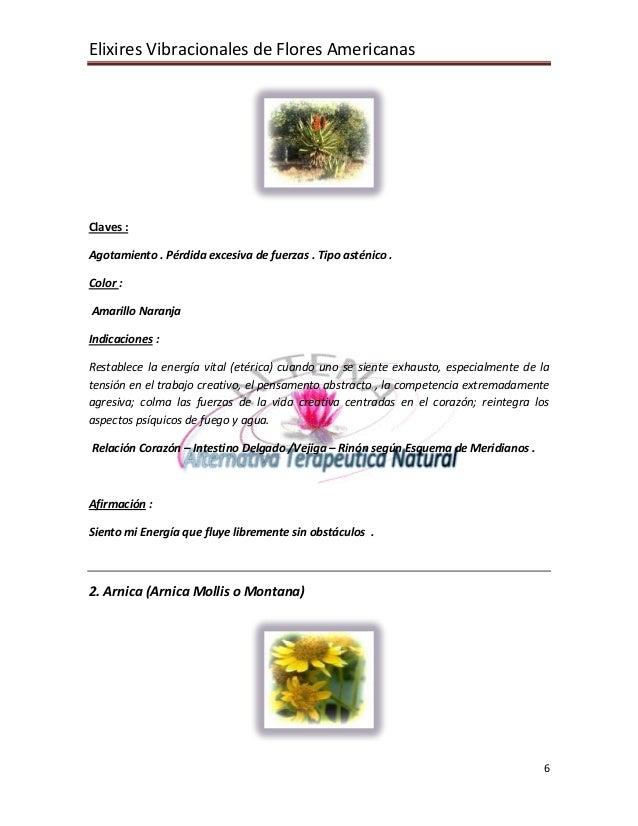 Elixires Vibracionales de Flores Americanas 6 Claves : Agotamiento . Pérdida excesiva de fuerzas . Tipo asténico . Color :...