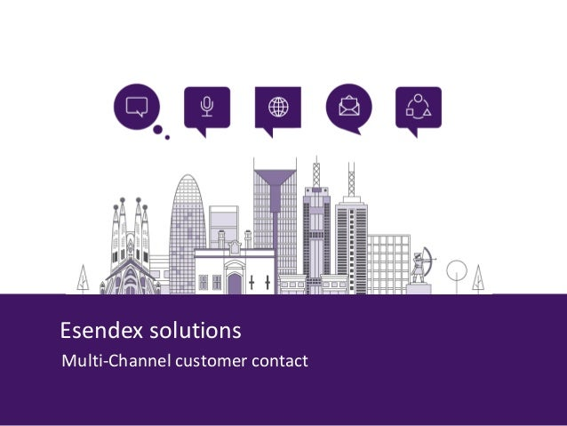 Esendex solutions Multi-Channel customer contact