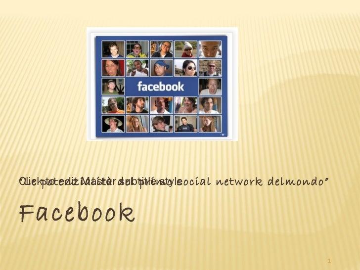 """Facebook """"Le potenzialità del primo social network delmondo"""" http://3.bp.blogspot.com/-uxqEHF8gaCo/Ttmip6tQ0dI/AAAAAAAABZM..."""