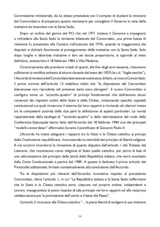 Esercizio della liberta religiosa in italia for Quanti sono i deputati