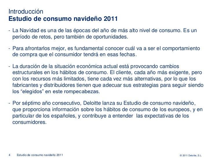 IntroducciónEstudio de consumo navideño 2011- La Navidad es una de las épocas del año de más alto nivel de consumo. Es un ...