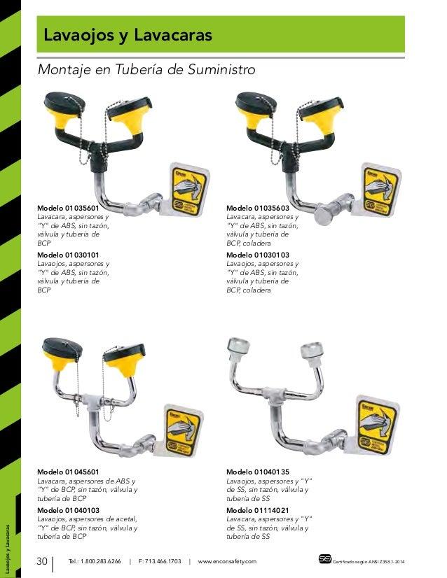 Esew full line industrial spanish catalog 2015 for Partes de una regadera