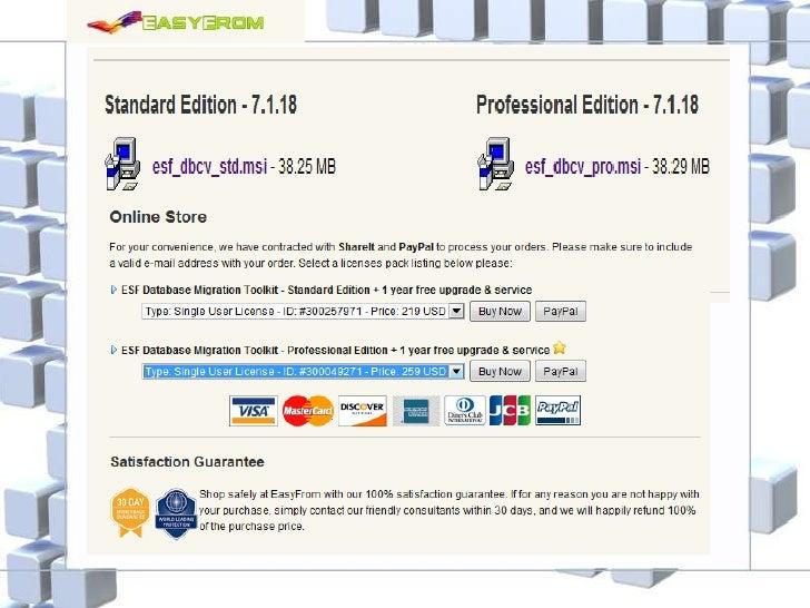 ESF Database Migration Toolkit Professional Edition v6 3 27 Incl Keygen Lz0