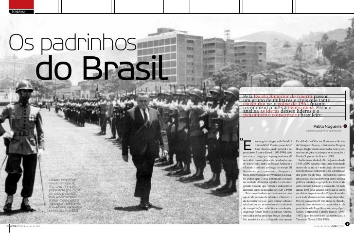história  Os padrinhos                            do Brasil                                                               ...
