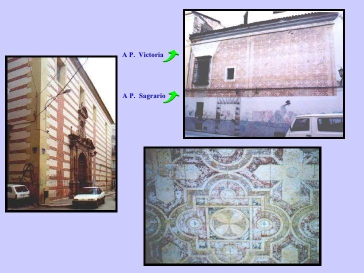 A P.  Victoria A P.  Sagrario