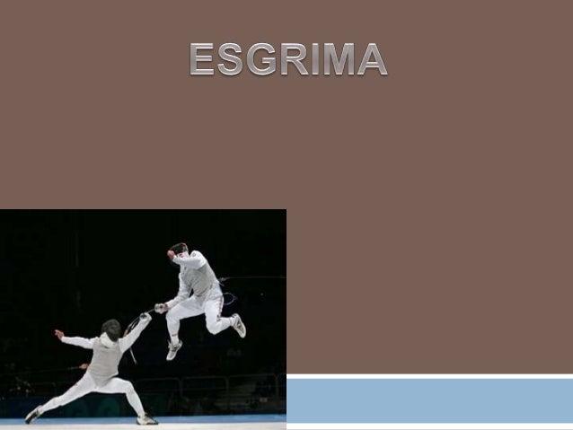 Como deporte, la esgrima usa tres tipos de armas: florete, espada y sable.Las competencias se llevan a cabo en cada una de...