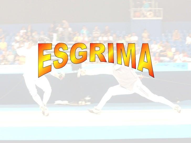 ESGRIMA