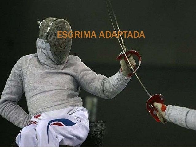 ESGRIMA ADAPTADA