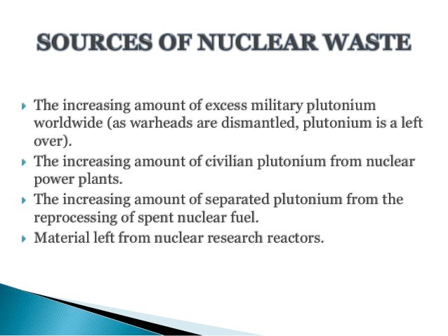 nuclear waste research paper With over 20% of united states power production being of a nuclear nature, and all of this nuclear production generating high-level nuclear waste, the us has already accumulated large quantities of volatile nuclear waste and will only have more in.