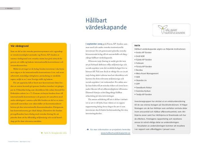 8 Etikrådet                                                                                  Hållbart                     ...