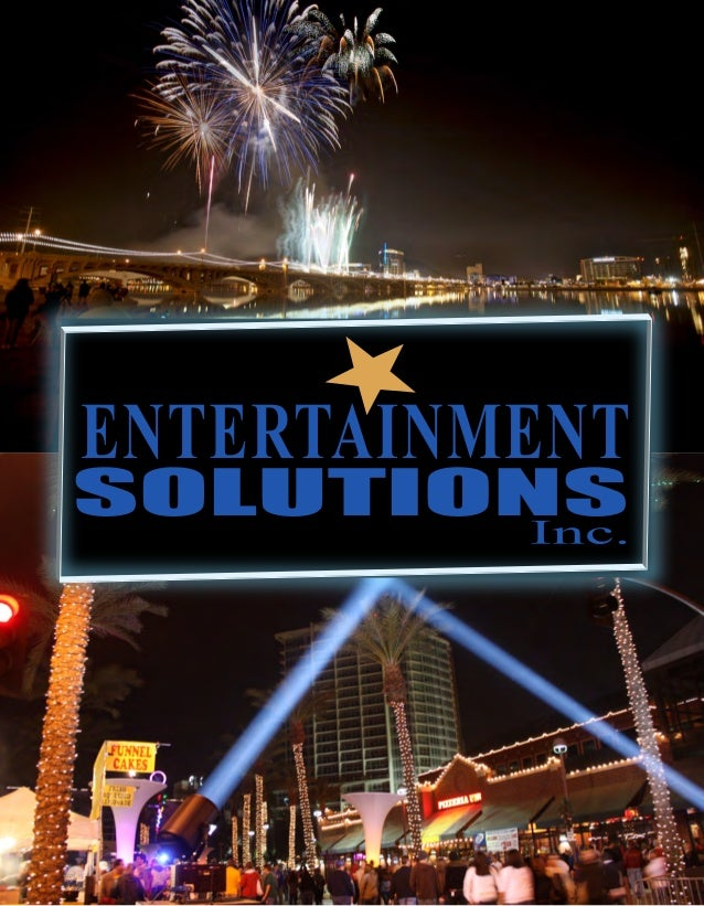 ABOUT US EVENT PRODUCTION We are proud to be a leader in the strategic development and production of a broad range of ente...