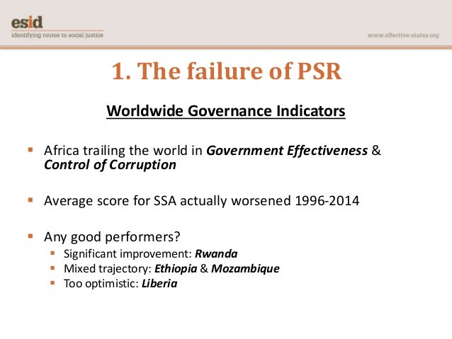 public sector reform in africa Most analyses of structural adjustments in africa are highly  6 the few  published studies of public sector reform and economic adjustment are quite  general.