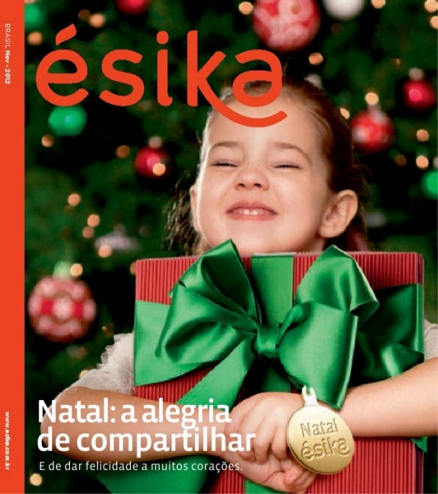 Revista Ésika Novembro
