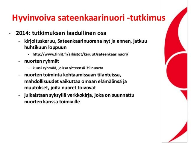 Hyvinvoiva sateenkaarinuori -tutkimus - 2014: tutkimuksen laadullinen osa - kirjoituskeruu, Sateenkaarinuorena nyt ja enne...