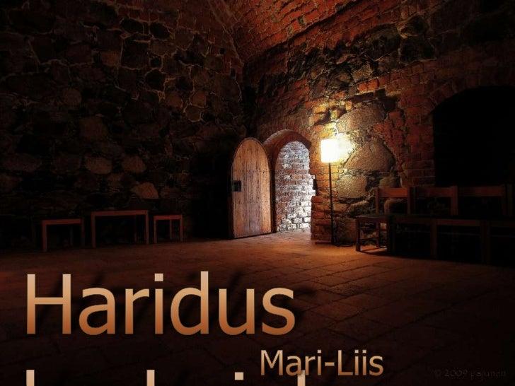Haridus keskajal<br />Mari-Liis Neubauer<br />