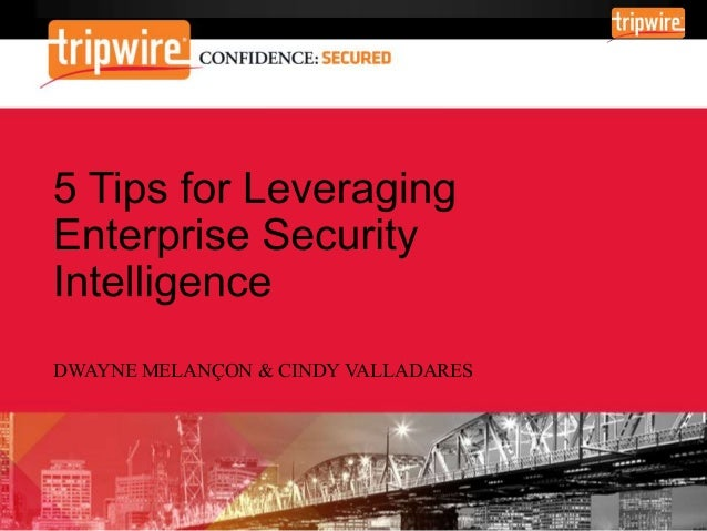 The Emergence of Enterprise Security Intelligence