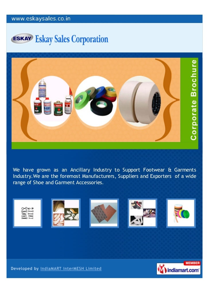 We have grown as an Ancillary Industry to Support Footwear & GarmentsIndustry.We are the foremost Manufacturers, Suppliers...