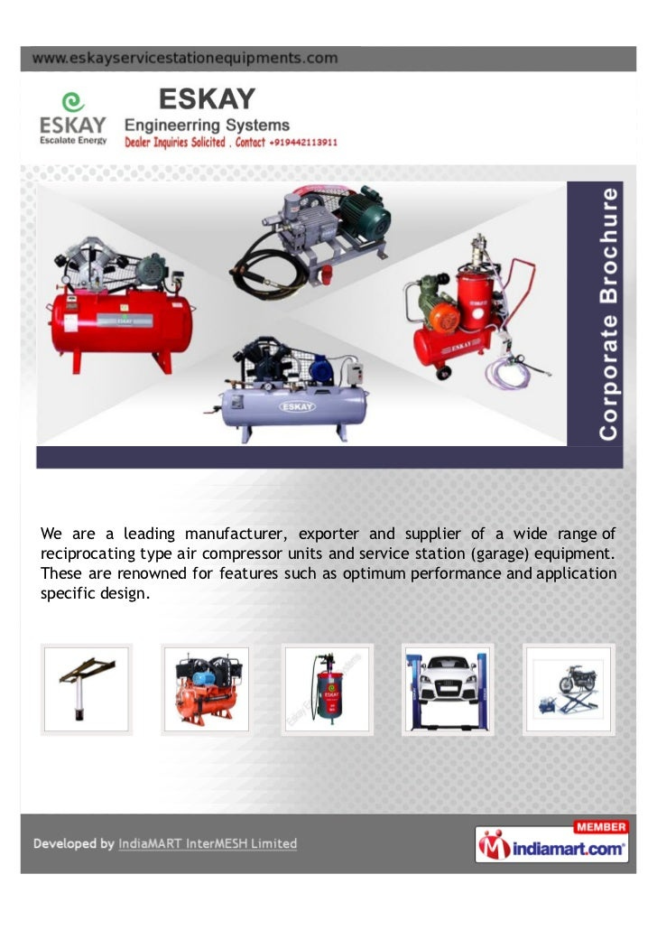 We are a leading manufacturer, exporter and supplier of a wide range ofreciprocating type air compressor units and service...