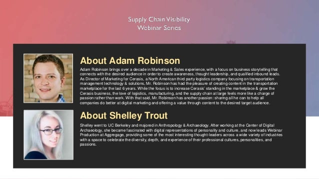 Supply Chain Visibility: How Automation Will Make Employees