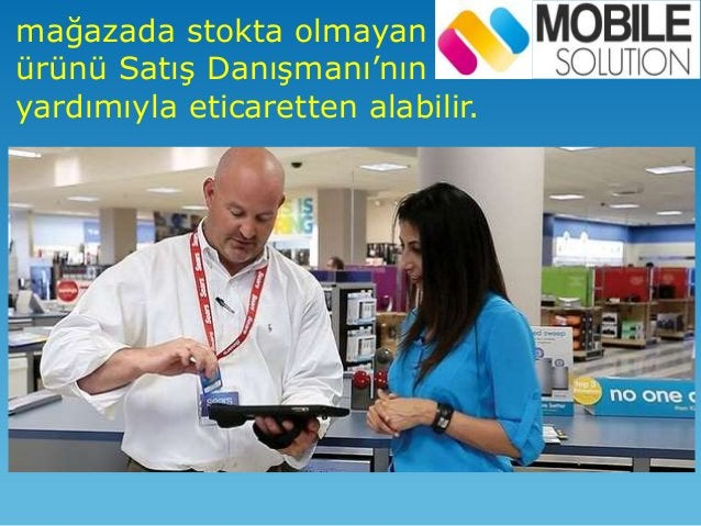 Müşteri mağazayı gezerken özel duyuru ve kampanyalara ulaşabilir.