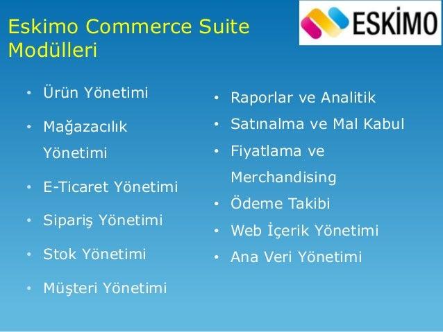 Sonuçta • Bütün satış kanalları tek bir merkezi kaynaktan besleniyor. Bu kaynaktan ürün, fiyat ve promosyon bilgisini alıy...