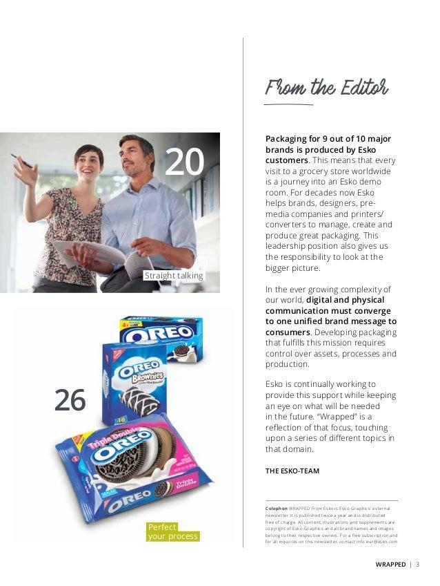 Esko Wrapped #01 -- Brand Impact through Efficient Packaging