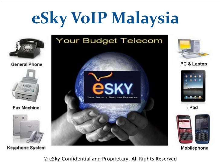 eSky VoIP Malaysia © eSky Confidential and Proprietary. All Rights Reserved