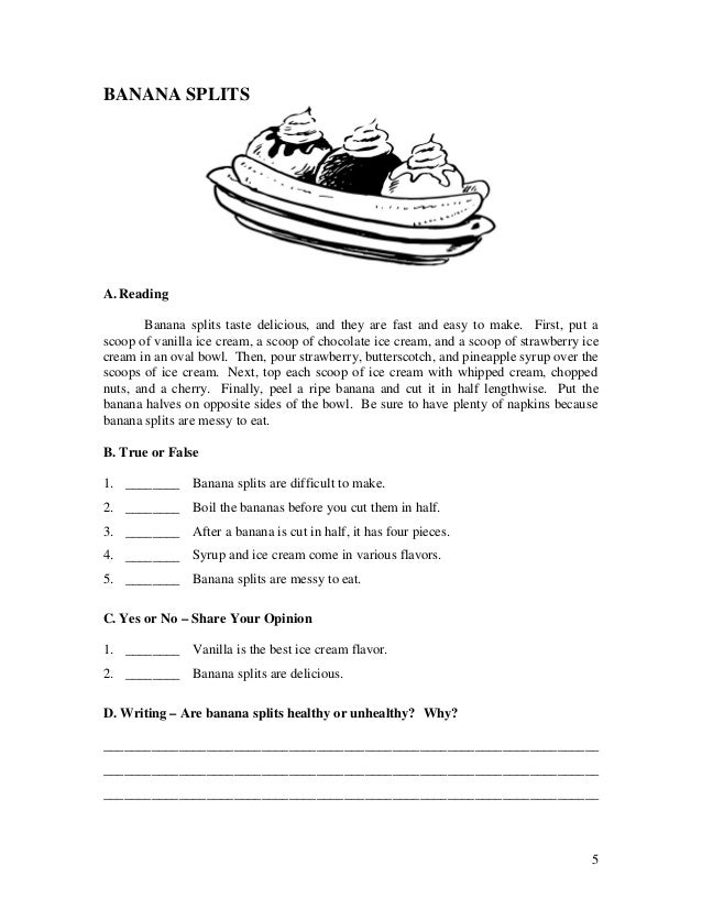 ESL worksheets Book 2 Short Stories for Adult Students – Short Story Worksheets