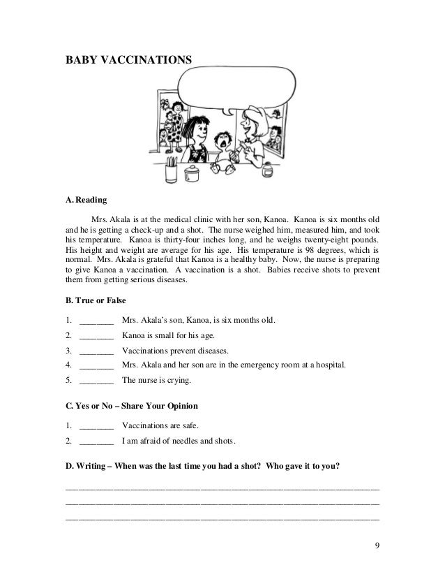 Free printable reading Worksheets, word lists and activities ...