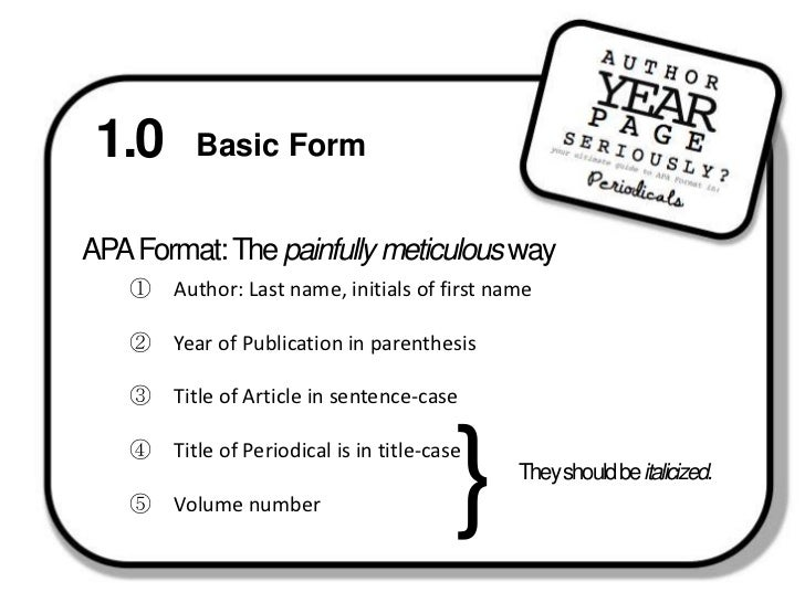 simple apa format template
