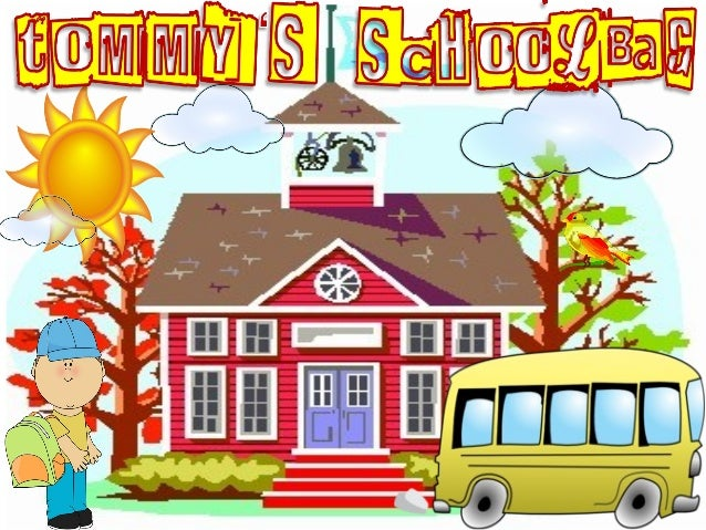 Hi! I am Tommy.I need to pack for school.Will you help me? Can you see my books? AWESOME!