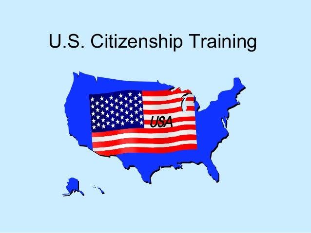U.S. Citizenship Training