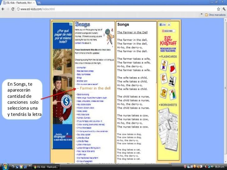 Tutorial de Esl kids web page