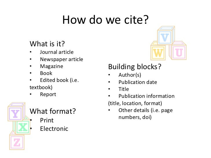 Cite it right eslw05 how do we cite ccuart