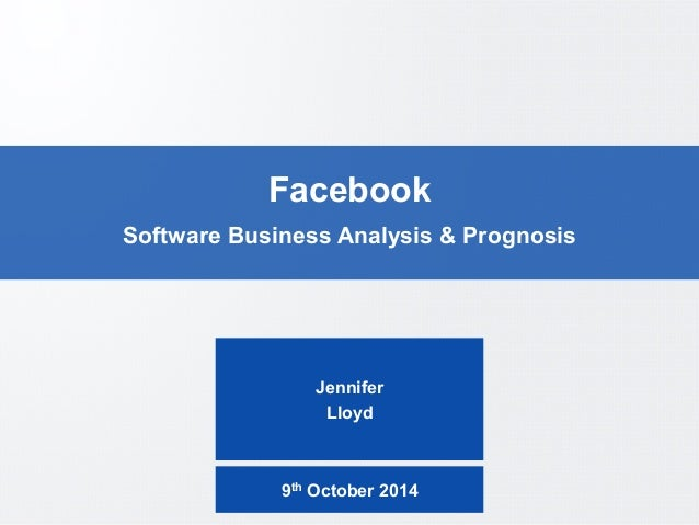 a comprehensive analysis of facebook as a company Steeple analysis - a technique for  a while and review your business' performance  cannot be taken as comprehensive and should never be used as.