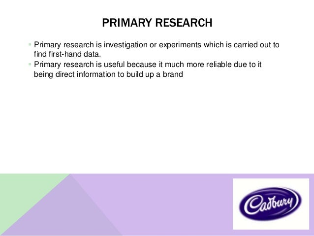 cadbury marketing research ppt George looked after production and buying and richard looked after sales and marketing,  cadbury produced their milk  a new global research and development.