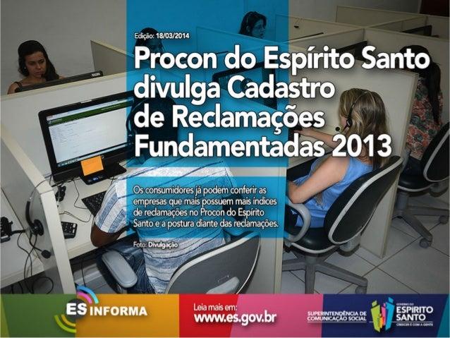 Es Informa Mídia - 18 de março de 2014