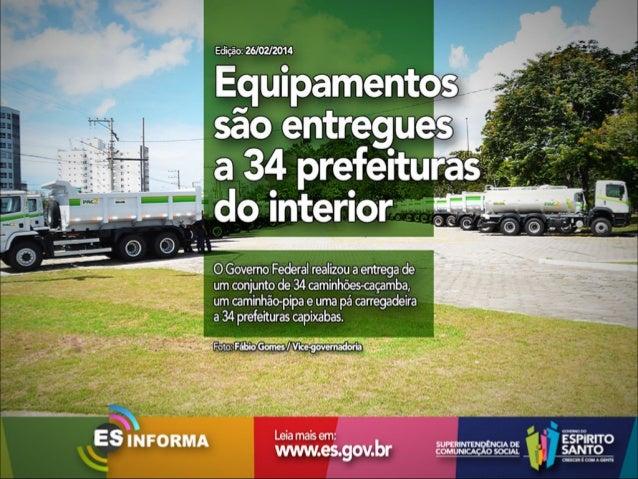 Es Informa Mídia - 26 de fevereiro de 2014
