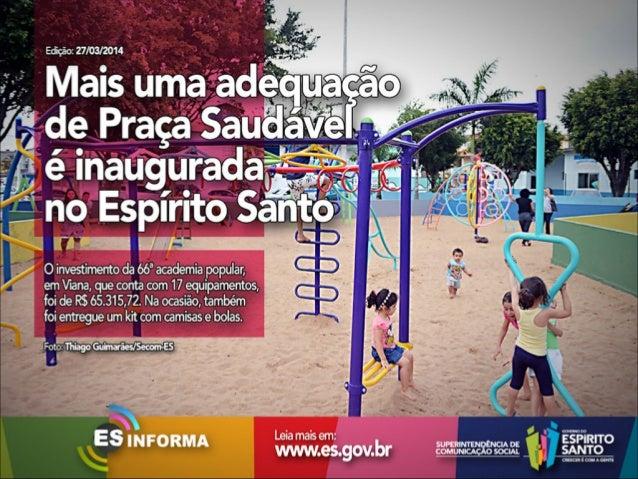Es Informa Mídia - 27 de março de 2014