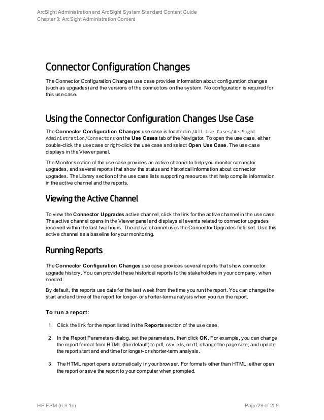 arcsight smart connector configuration guide