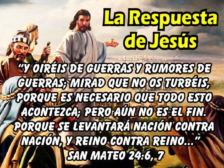 • Espíritu de burla en la gente.             2 Pedro 3:3,4     • Señales estelares.             San Mateo 24:29     • La p...