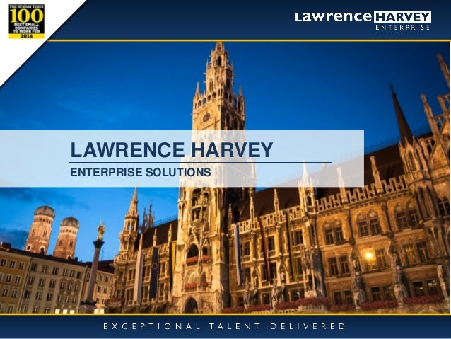 10/11/2014  1  LAWRENCE HARVEY  ENTERPRISE SOLUTIONS